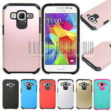 Hybrid Protective Case Cover Skin For Samsung Galaxy Core Prime Prevail LTE G360