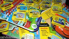LeapFrog My First LeapPad Cartridges a Lot of Variety - You Pick Book & Cart 069