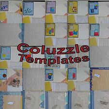 Provo Craft Coluzzle Templates Scrapbooking You Choose