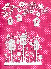 NEW TATTERED LACE BIRDHOUSE DIE CUTS - GARDEN TOPPER-CHRISTMAS