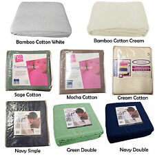 Bamboo Cotton or Pure Cotton Choice - Blanket Summer -  SINGLE or Double
