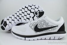 NIKE FLEX 2015 RUN WHITE/BLACK/BLUE GRAPHITE RUNNING FREE 2014 US MENS SIZES