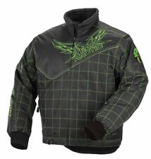 Arctic Cat Youth Kid's Champion Snowmobile Coat / Jacket - Lime - 5250-62_