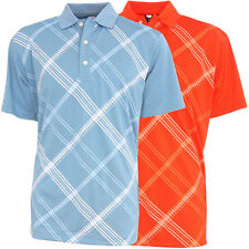 Page & Tuttle Cool Swing Geo Print Men's Polo Golf Shirt - Brand New