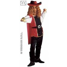 Boys & Mens Musketeer Costume for 16th 17th Century Cavalier Fancy Dress