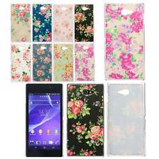 Opaca Fiore Slim PC Hard Cover Case Custodia Per Sony Xperia M2