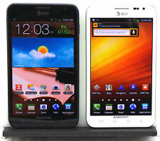 Samsung Galaxy Note 1 I717 AT&T T-Mobile Black White Power On Clean ESN NB As Is