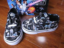 NEW VANS Authentic SKATE SHOES TODDLER SIZES STAR WARS PRINT