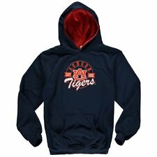 Auburn Tigers Youth Poly Pro Hoodie - Navy Blue - College