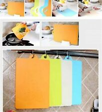 New Fruit Vegetable Hygienic Slicing Cutting Chopping Boards Mat Kitchen Tool H