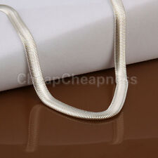 Vogue Women COOL 6mm Snake Fashional Necklace Silver Snake Chain for Youth WBCA