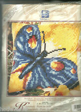 CHOICE-LARGE BUTTERFLY/HORSE/SUNFLOWER/PURPLE FLOWERS/ ,NEEDLEPOINT KIT VERVACO
