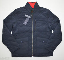 NEW Men Tommy Hilfiger Bluff Reversible Quilted Block Jacket Blue Red M L XL 2XL