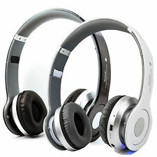 Wireless Foldable A2DP Bluetooth Headset With FM Support TF MP3 For Mobile Phone
