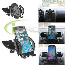 Car CD Dash Slot Mount Holder Dock For Phone 6 Samsung Galaxy S7/S7 Edge Note 5