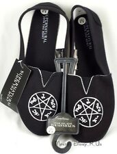 Supernatural Logo Join The Hunt Slip-On Womens Shoes Canvas Flats Size S/M/L NEW