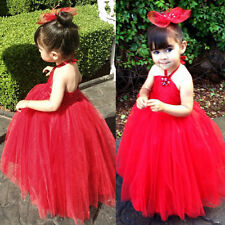 NEW Cute Girls Toddler Kids Princess Party Pageant Wedding Bridesmaid Dresses LH
