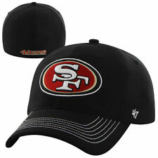 San Francisco 49ers '47 Brand Game Time Closer Flex Hat - Black