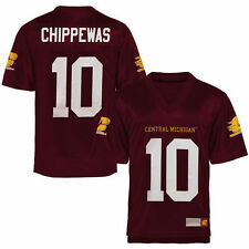 Central Michigan Chippewas Fan Football Jersey - Maroon - College