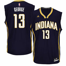 Paul George Indiana Pacers adidas Replica Jersey - Navy Blue - NBA