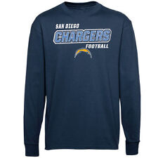 San Diego Chargers Youth Crew Pullover Sweatshirt - Navy Blue - NFL