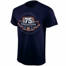 Auburn Tigers 75 Year Jordan-Hare Seal T-Shirt - Navy Blue - College