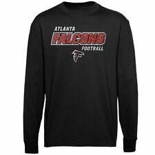 Atlanta Falcons Youth Crew Pullover Sweatshirt - Black - NFL
