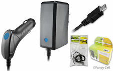 New Battery Auto Car + Wall Home Travel Charger Combo for LG Cell Phones (CA)