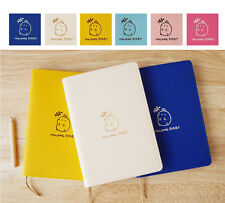 Molang Diary Ⅲ Planner Journal Scheduler Organizer Agenda Cute Scrapbook Note