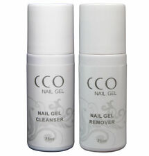 CCO UV LED Nail Gel Polish for  Any Brand Soak off Remover and Cleanser 75ml UK
