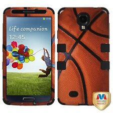 For Samsung Galaxy S4 Hybrid Basketball NBA NCAA Sports Cell Phone Case Cover