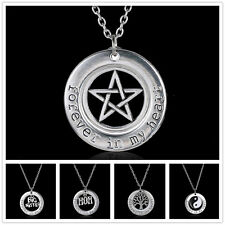 2015 special Fashion Xmas Presents Forever in my heart silver  pendant necklaces