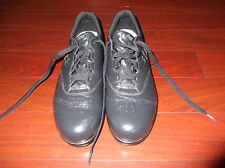 SAS FREE TIME NAVY BLUE LEATHER COMFORT OXFORDS  SHOES  SZ 10.5 N