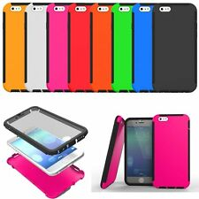 Selected 2-in-1 Hybrid Case Cover Housing Protector for Various Mobile Phone New