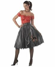 BRAND NEW 1950s Bad Girl DELUXE ADULT TUFF COOKIE COSTUME Sizes S, M, L, XL