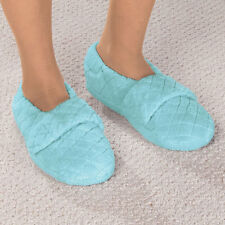 Chenille Stretch Slippers - Easy On and Off