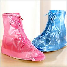 New Reusable Rain Shoe Covers Waterproof PVC Durable Overshoes Boot Anti-slip H