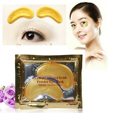 Collagen Crystal/Gold Eye Mask Eyelid Anti Ageing Wrinkle Skin Care Patch Pad