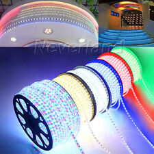 1M 60leds/m 3528 SMD LED Strip Rope Light Outdoor Garden Home Party Waterproof