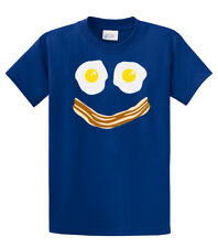 Bacon & Eggs Smiley Face T-shirt