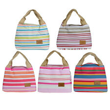New Thermal Insulated Lunch Box Tote Cooler Zipper Bag Bento Lunch Pouch Special