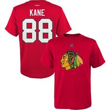 Toddler Kids Chicago Blackhawks Jersey Style T-Shirt #88 Patrick Kane NHL Tee