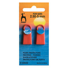 Pony Knitting Needle Point Protectors / Stitch Holders Small & Large sizes
