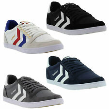 New Hummel Slimmer Stadil Lo Mens Classic Canvas Trainers Shoes Size UK 7-14