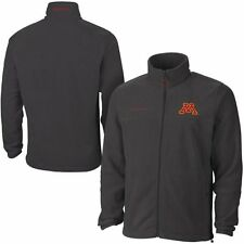 Mens Minnesota Golden Gophers Columbia Charcoal Flanker II Full Zip Jacket
