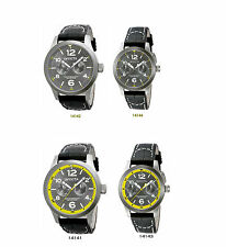 New Invicta I-Force Swiss Quartz Day Date Charcoal Dial Watch - His or Hers