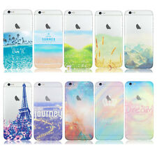 Fundas Carcasas Para Apple iPhone 6 6 Plus Goma TPU Silicone Pattern PhoneCase