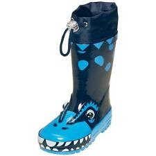 Playshoes Wellies Dino Blue size 20 to 29 selectable
