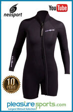 NeoSport Women's Combo Wetsuit Jacket 7mm - Two Piece Jacket BEST SELLER
