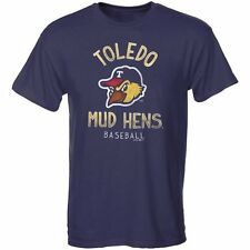 Toledo Mud Hens Moon Shot Soft Style T-Shirt - Navy Blue
